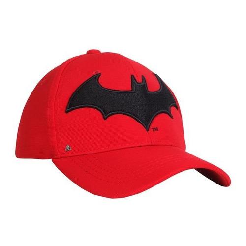 Imagen 1 de 8 de Gorra Baseball Logo Batman Arkham Cerrada Flex $260