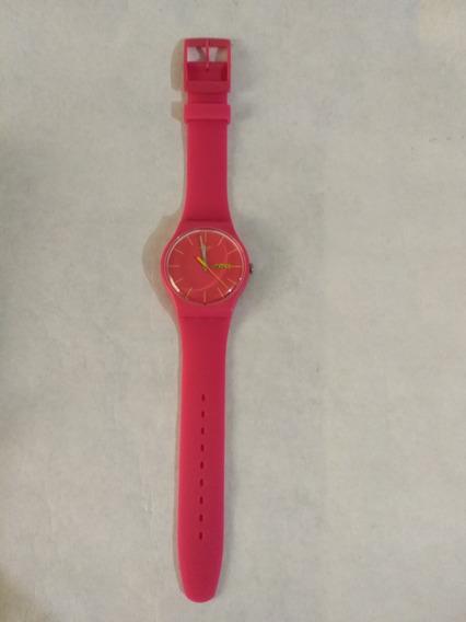 Reloj Swatch Rosa Con Fechador