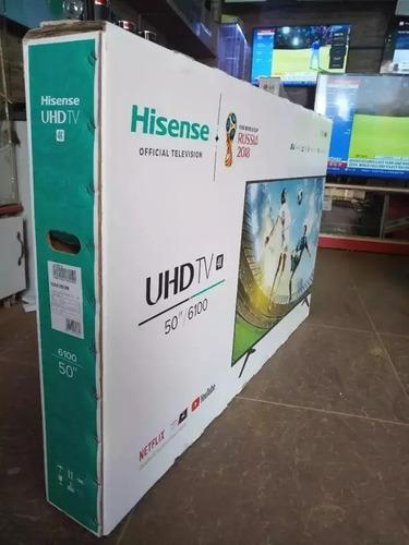 Hisense 50 Pulgadas 4k Ultra Hd Smart Tv Uhd Led Smartcast