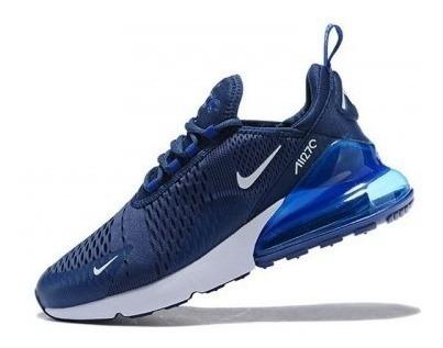 Tenis Nike Para Hombre,Tenis Nike Blanco Azules Nike Air