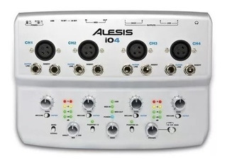 Placa De Audio Alesis Io4 Usb
