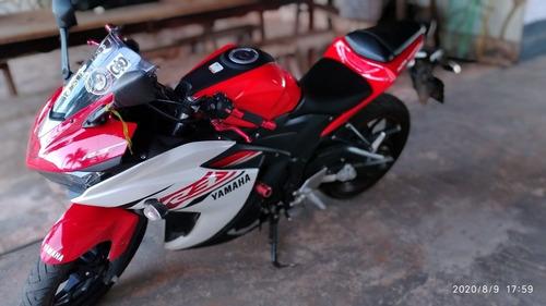 Yamaha R3 Moto Zera. R3 321 Cilindra Top.