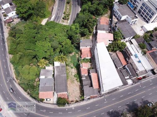 Terreno À Venda, 928 M² Por R$ 1.000.000,00 - Cabula - Salvador/ba - Te0045