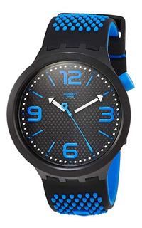 Reloj Swatch Big Bold Blanco Azul Rojo Negro Gris Naranja