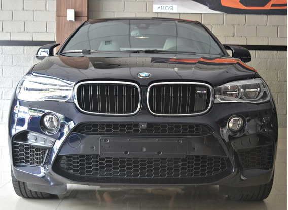 Bmw X6m 4x4 V8 Bi-turbo 4.4. Preto 2016/17