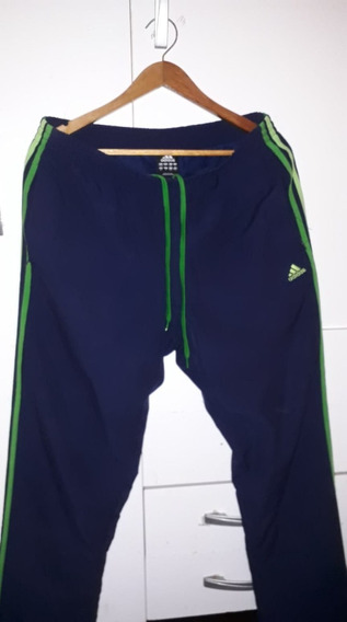 Pantalon adidas Azul Talle L