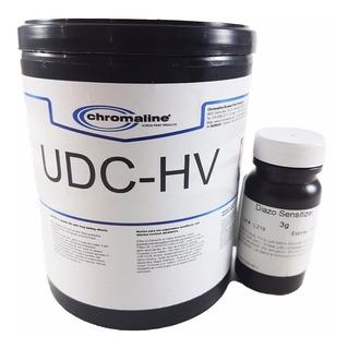 Emulsión Serigrafia Dual Al Diazo Udc-hv X1kg Chromaline