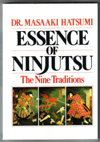Livro Essence Of Ninjutsu - Masaaki Hatsumi - Novo E Lacrado