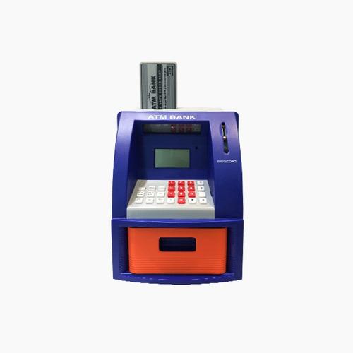 Cajero Automático Con Teclado Digital, Juguete Para Ahorrar
