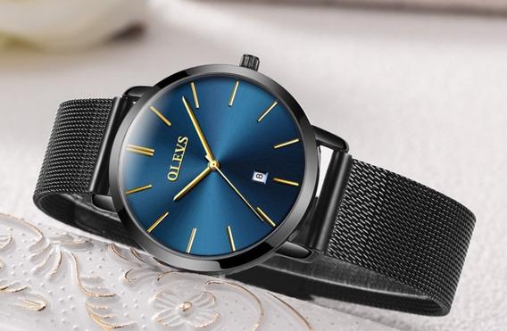 Relógio Feminino Olevs Joia Luxo Prova D