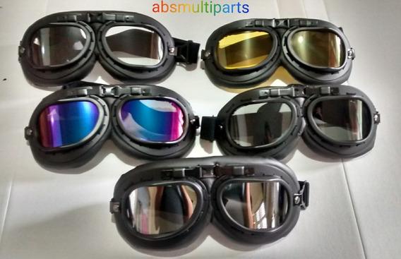 Óculos Aviador Retrô, Vintage, Motociclista, Esporte ..