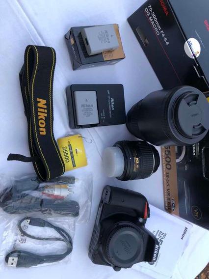 Kit Câmera Nikon D5500