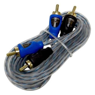 Bass Rockers 12ft Interconnect Rca Cable De Audio Crc12