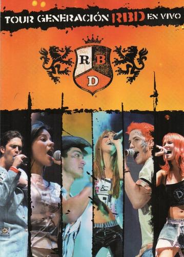 Rbd Tour Generacion En Vivo