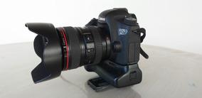 Câmera Canon 6d Corpo + Gripo - Semi Nova, Poucos Clicks