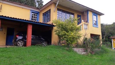 Sítio Em Carvalhos, Vale Do Muquém , Com 60.000 M2, Casa Boa 04 Quartos, Piscina, Lago, Cachoeira Dentro Do Terreno. - 4503