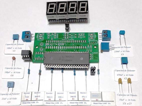 Icl7107 Kit Voltímetro P/montar Fonte Simples E Multi-escala