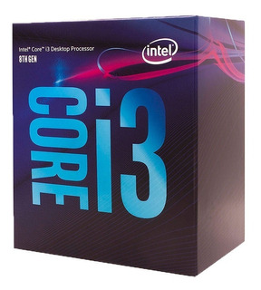 Micro Procesador Intel I3 8100 3.6ghz Coffelake 1151 8vagen