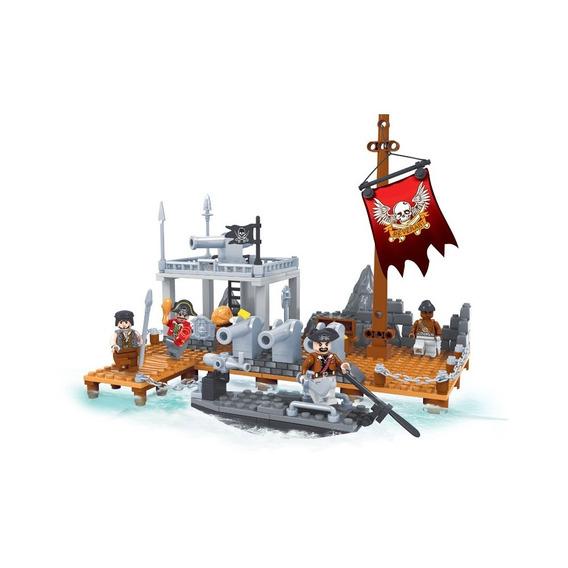 Brinquedo Para Montar - Porto Combate - 238 Peças