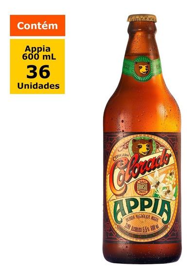 Cerveja Colorado Appia 600ml - Caixa Com 36 Unidades