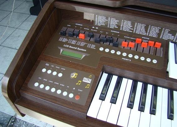 Órgão Harmonia Hs200 Cor Tabaco Frete Grátis Sul De Mg