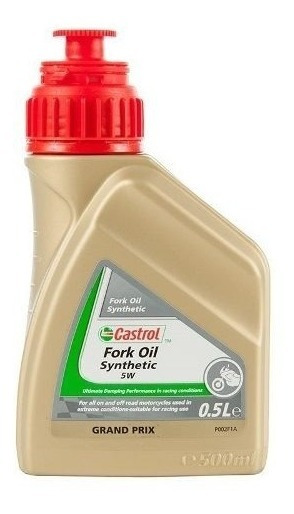 Fluido Oleo Suspensão Moto Fork Oil Sintet 5w 500ml Castrol