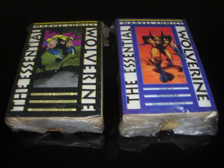Hq Essential Wolverine 1 A 5 Importadas P&b Marvel X-men