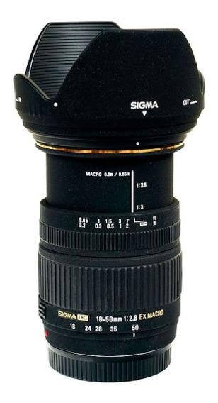 Lente Sigma Sony A-mount Minolta Dc 18-50mm F/2.8-4.5 Os