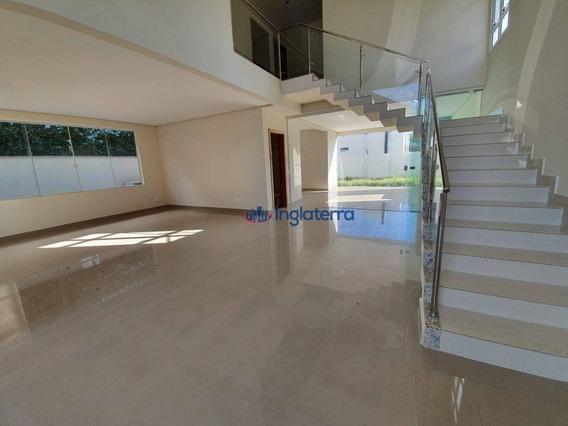 Casa Para Alugar, 280 M² Por R$ 5.400/mês - Gleba Palhano - Londrina/pr - Ca1588