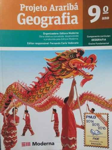 Livro - Geografia - Projeto Araribá - 9º Ano - Fundamental.