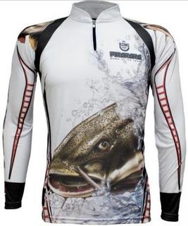 Camiseta De Pesca King Proteção Solar (varias Estampas)
