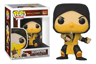 Funko Pop Scorpion 537 Mortal Kombat Original