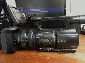 Filmadora Sony Z5 + Gravador De Cartão Hvr Mrc1 + Cartão