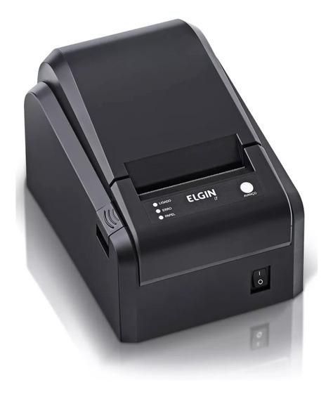 Impressora Não Fiscal Elgin I7 Serrilha Usb 46i7usbckd11