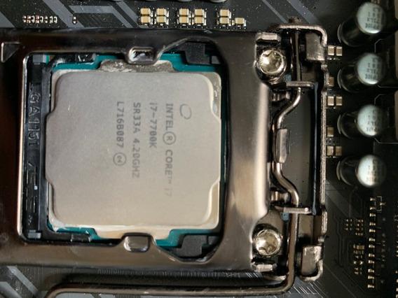 Processador Intel Core I7-7700k 4 Núcleos 64 Gb