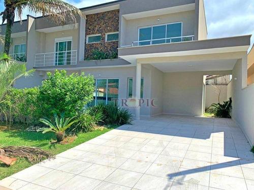 Imagem 1 de 15 de Casa Com 4 Dormitórios À Venda, 130 M² Por R$ 1.150.000,00 - Morada Da Praia - Bertioga/sp - Ca0084