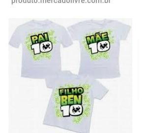 Camisas Personalizadas Ben10