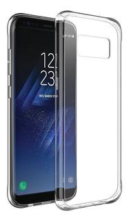 Capinha Tpu Transparente Para Galaxy S8 Normal Flat Capa