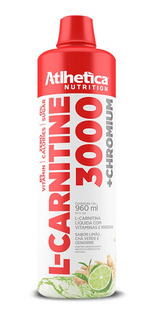 L- Carnitine 3000 + Chromium - 960ml - Atlhetica Nutrition