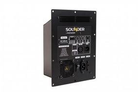 Amplificador Profissional Mono 1.200 Rms Com Equalizador