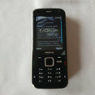 Nokia N78 De Colección Año 2008 Buen Estado Funciona