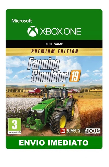 Farming Simulator 2019 Com Mod Xbox 360 - Games no Mercado