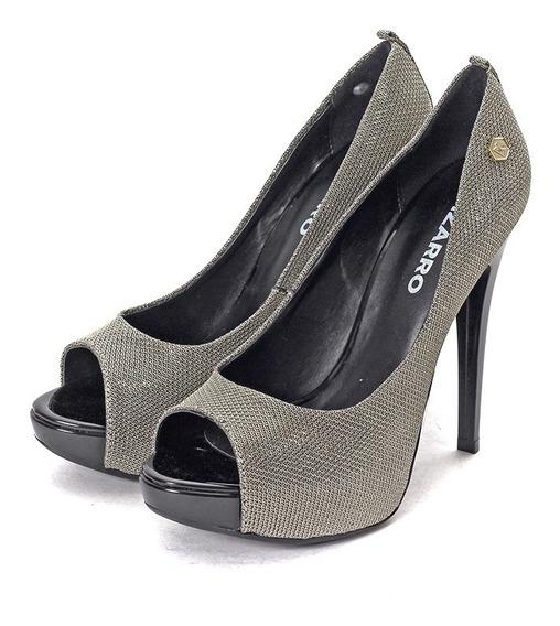 Stilettos Mujer 695-8363t Tela Bizarro