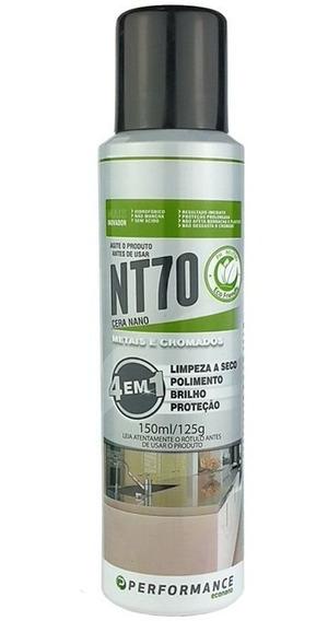 Nt70 Produto Para Polimento De Metais E Cromados Performance