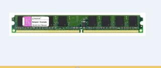 Memoria Ram Kingston Ddr2, 1gb, 400 Mhz, Para Pc Escritorio