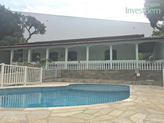 Chácara Em Valinhos No Bairro Joapiranga,com 3 Dormitórios À Venda, 2400 M² Por R$ 800.000 - Joapiranga - Valinhos/sp - Ch0042