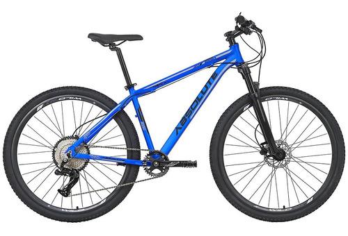 Imagem 1 de 5 de Bicicleta 12v Absolute Nero Aro 29 Azul Suspensão A Ar