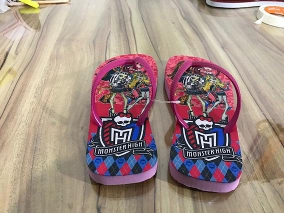 Chinelo Personalizado Monster High