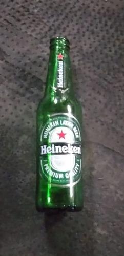 16 Botellitas Vacias De Cerveza Heineken