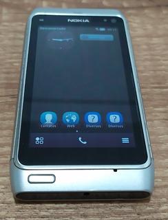 Nokia N8 Completo Caixa Cabos Manuais Excelente Usb Hdmi Hd